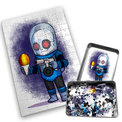 Mr. Freeze - Character - 120 Piece Jigsaw Puzzle