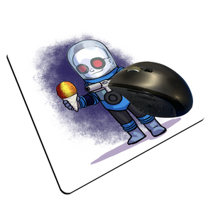 "Mr. Freeze - Custom ""Thin"" Mouse Pad"