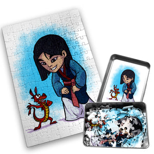 Mulan - Character - 120 Piece Jigsaw Puzzle