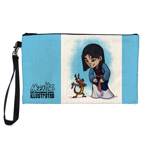Mulan - Character - Large Pencil/Device Bag