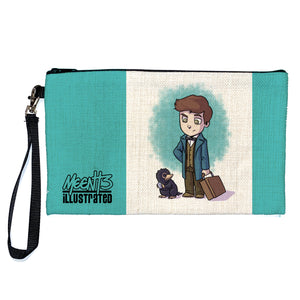 Newt - Character - Large Pencil/Device Bag