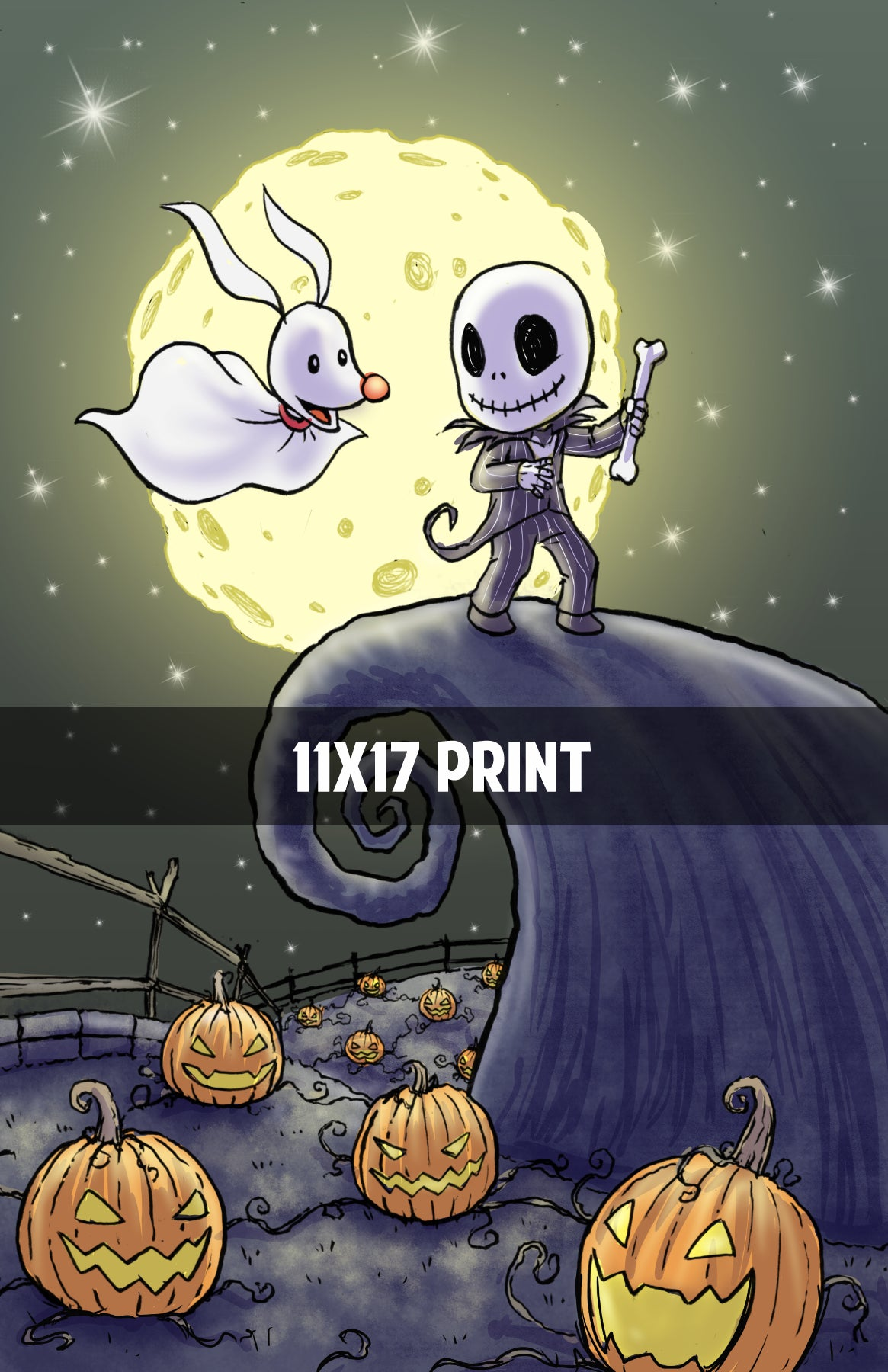 Nightmare Before Christmas - 11x17 Print