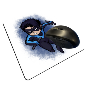 "Nightwing - Custom ""Thin"" Mouse Pad"
