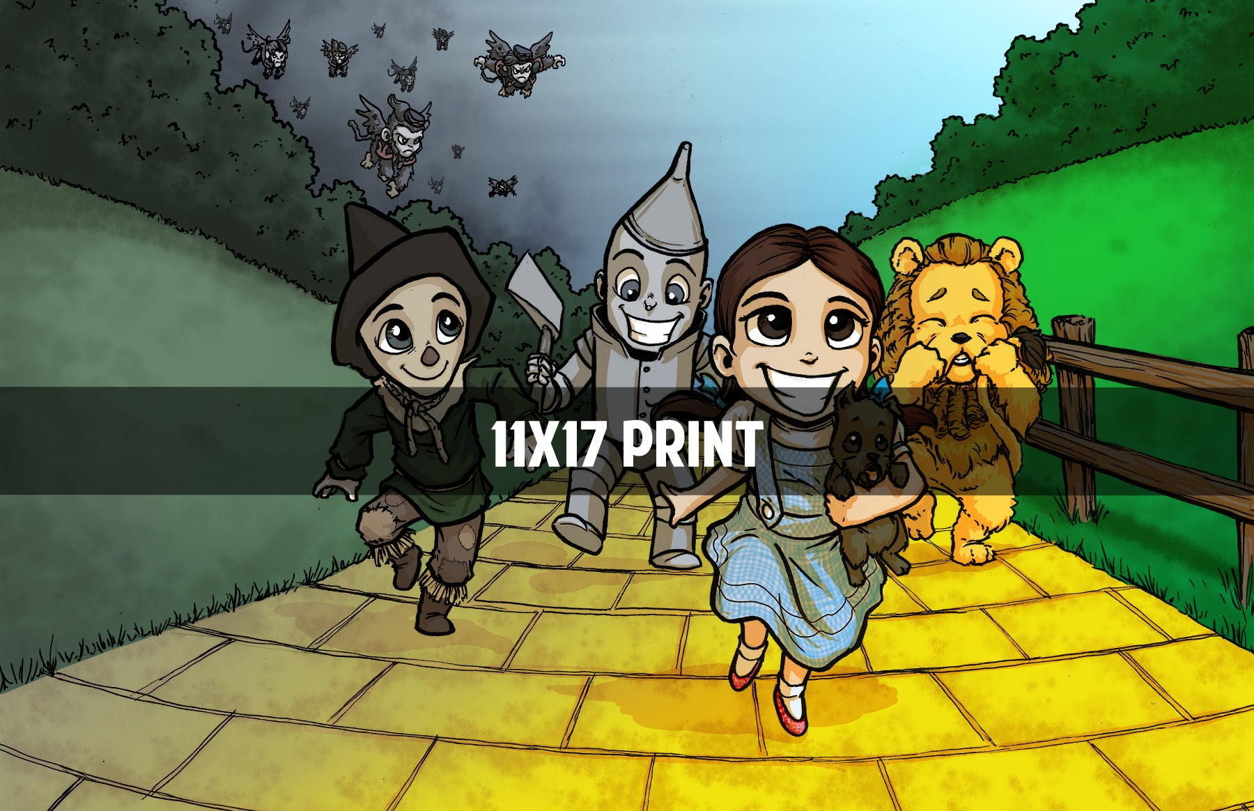 Wizard of Oz- 11x17 Print