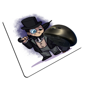 "Penguin - Custom ""Thin"" Mouse Pad"