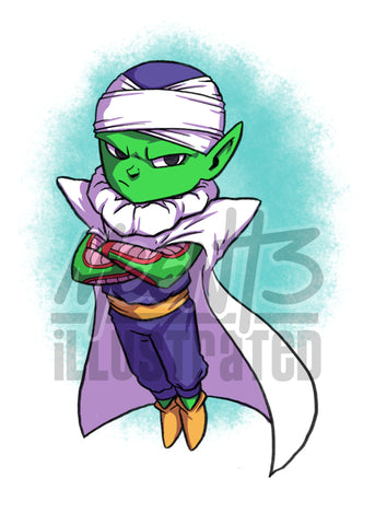 Piccolo - 5x7 Mini Print