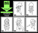 Dragonball Coloring Pack