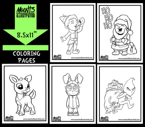 Christmas Coloring Pack