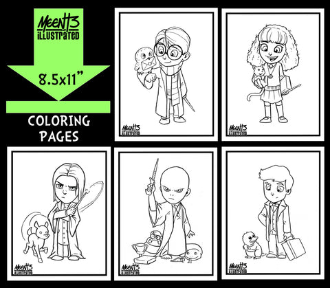 Harry Potter Coloring Pack