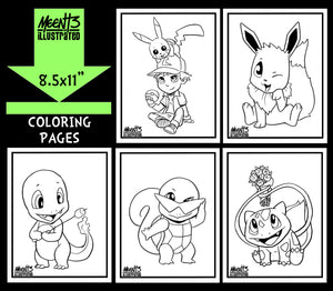 Pokemon Coloring Pack