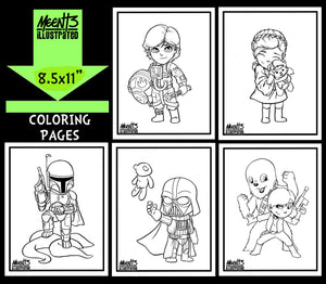 Star Wars SERIES 1 Coloring Pack