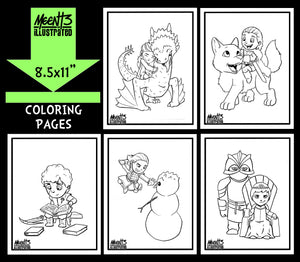 Game of Thrones Coloring Pack