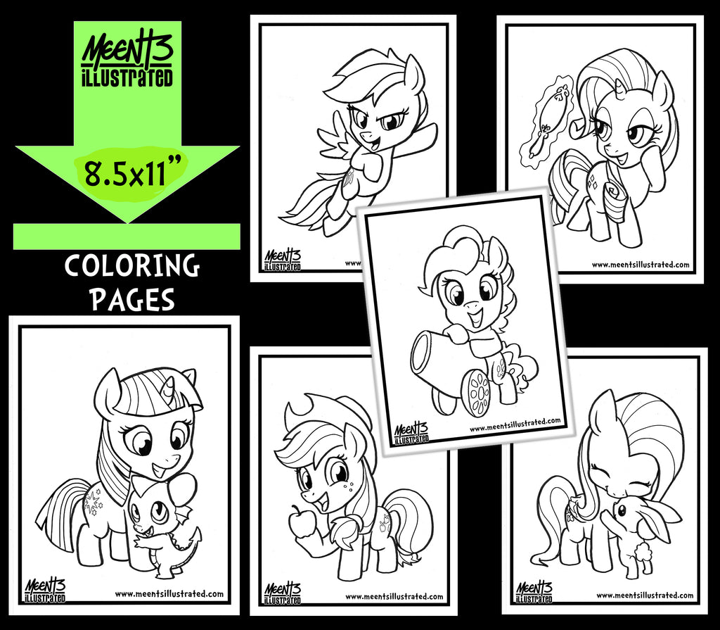 My Little Pony Series 1 Coloring Pack