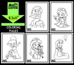 Disney Princesses SERIES 1 Coloring Pack