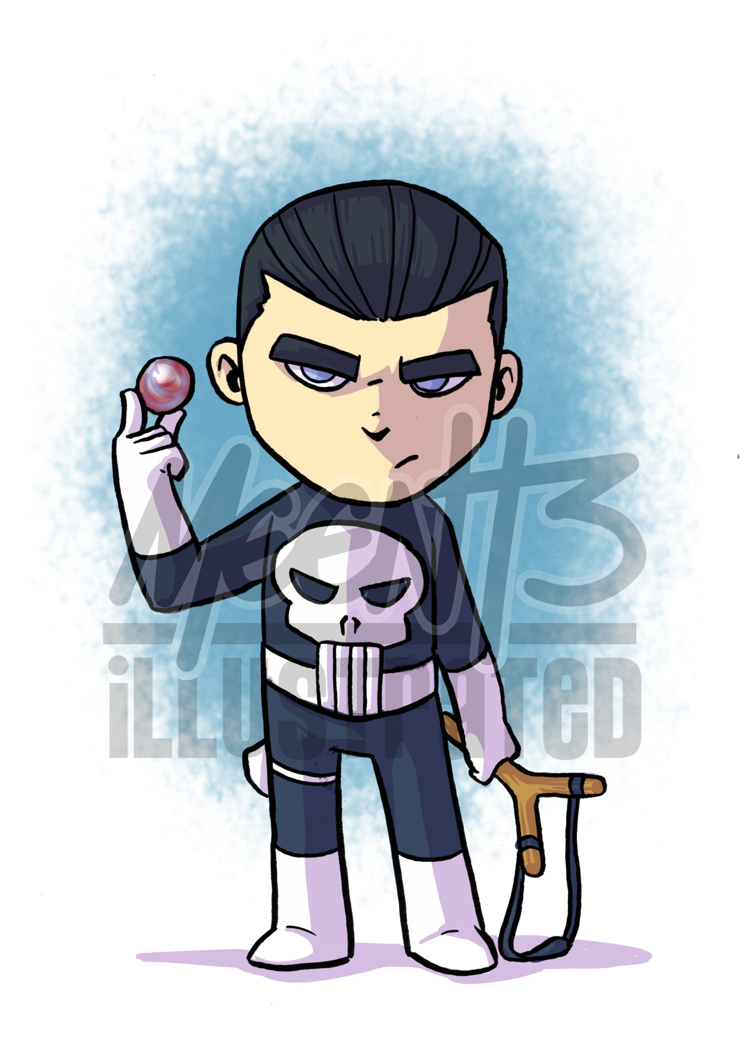 Punisher - 5x7 Mini Print