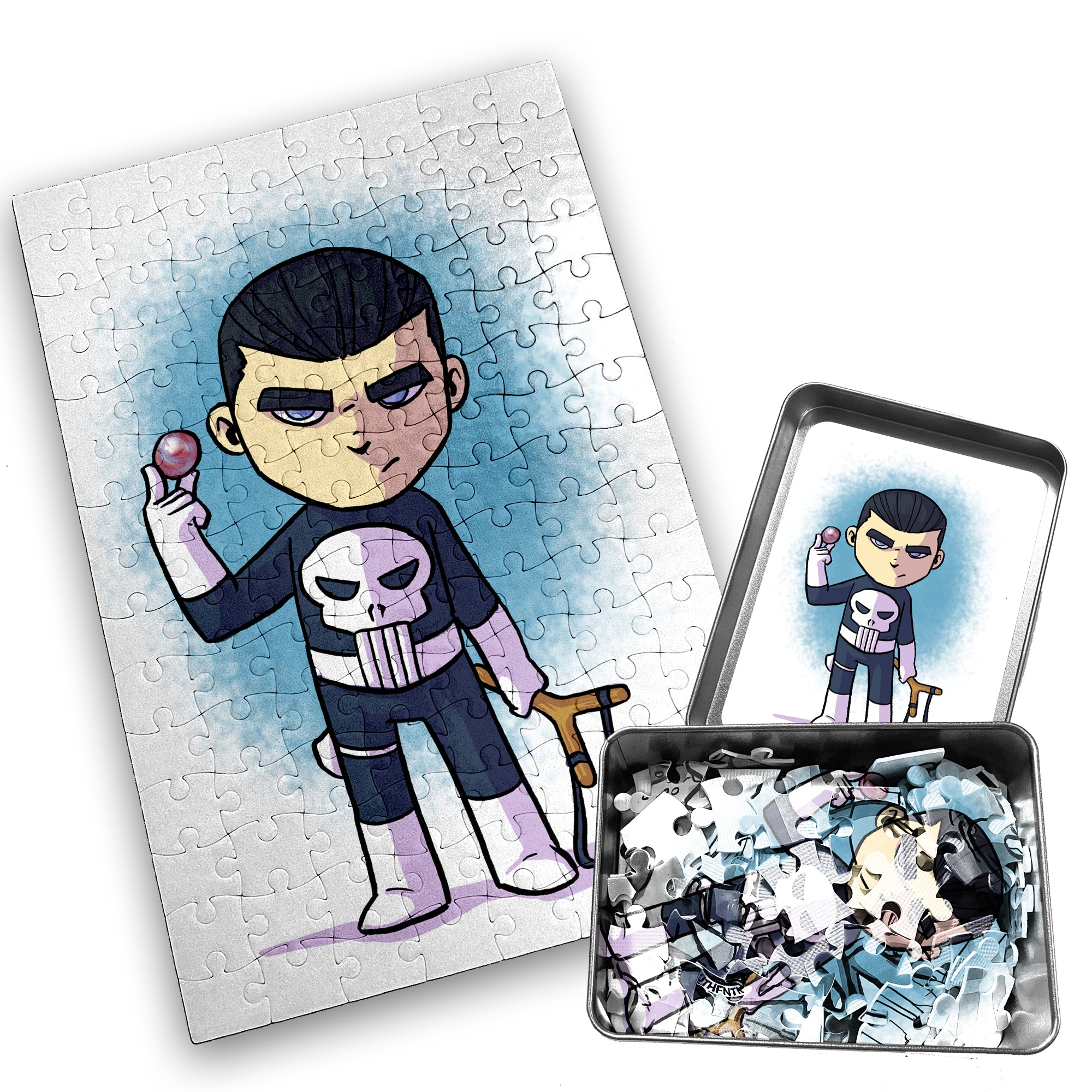 Punisher - Character - 120 Piece Jigsaw Puzzle