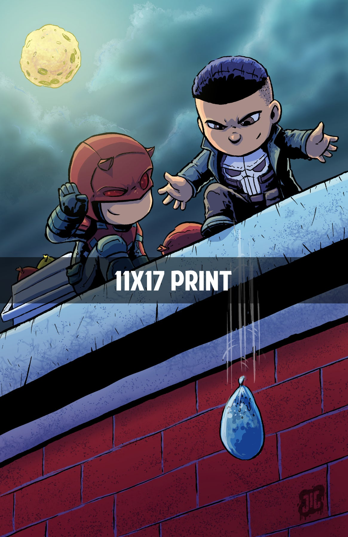 Punisher and Daredevil - 11x17 Print