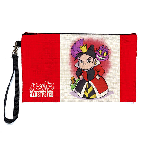 Queen of Hearts - Character - Large Pencil/Device Bag