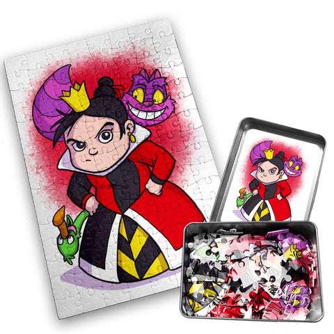 Queen of Hearts - Character - 120 Piece Jigsaw Puzzle