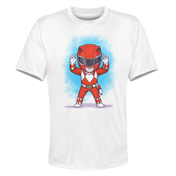 Red Ranger - White Performance Graphic Tee