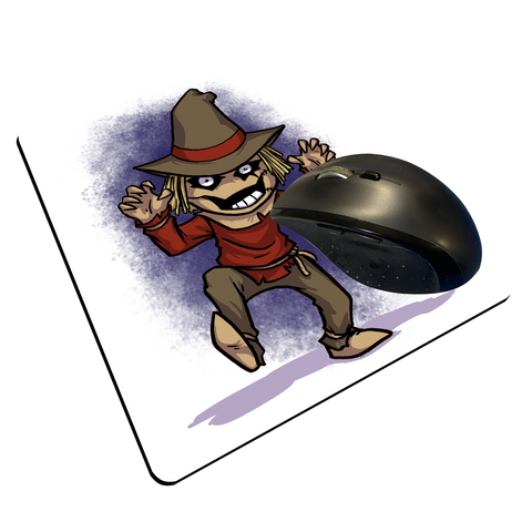 "Scarecrow - Custom ""Thin"" Mouse Pad"
