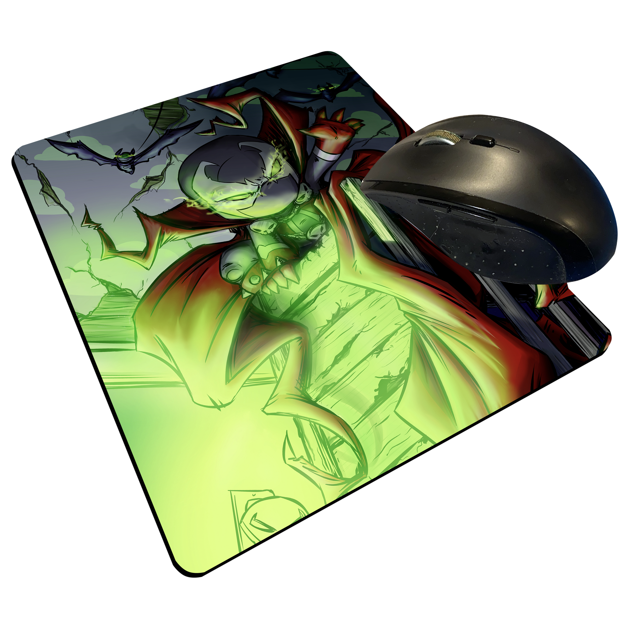 "Spawn 250 - Custom Graphic ""Thin"" Mouse Pad"