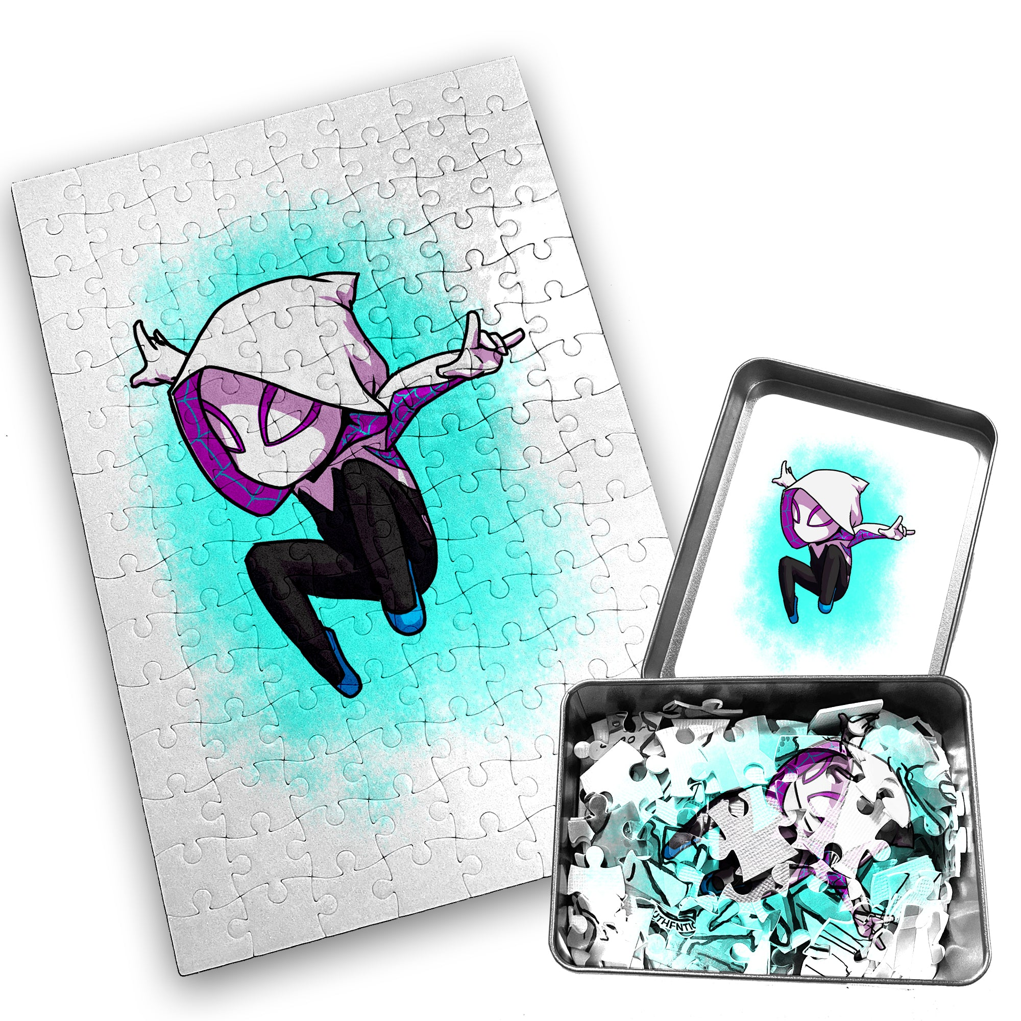 Spider Gwen - Character - 120 Piece Jigsaw Puzzle