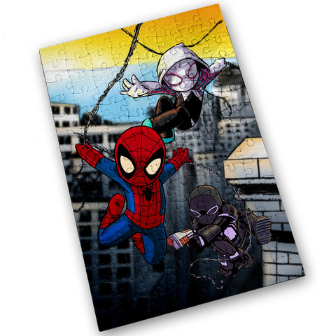 Spiders - 120 Piece Jigsaw Puzzle