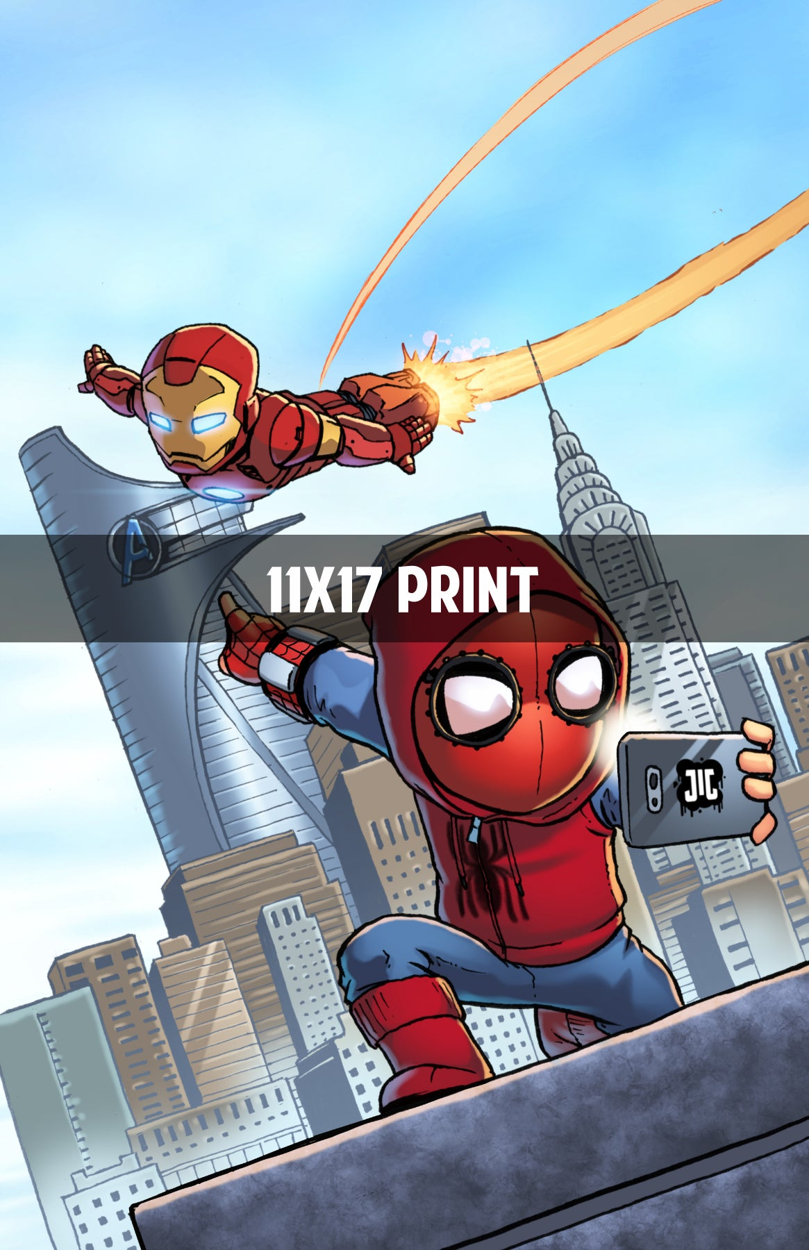 Spider-Man Homecoming - 11x17 Print