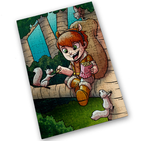 Squirrel Girl - 120 Piece Jigsaw Puzzle