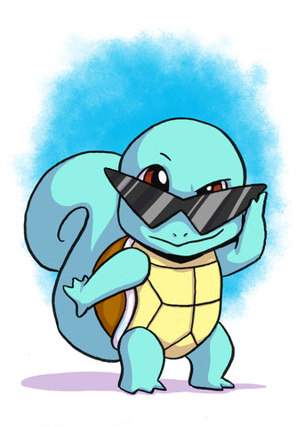 Squirtle - 5x7 Mini Print