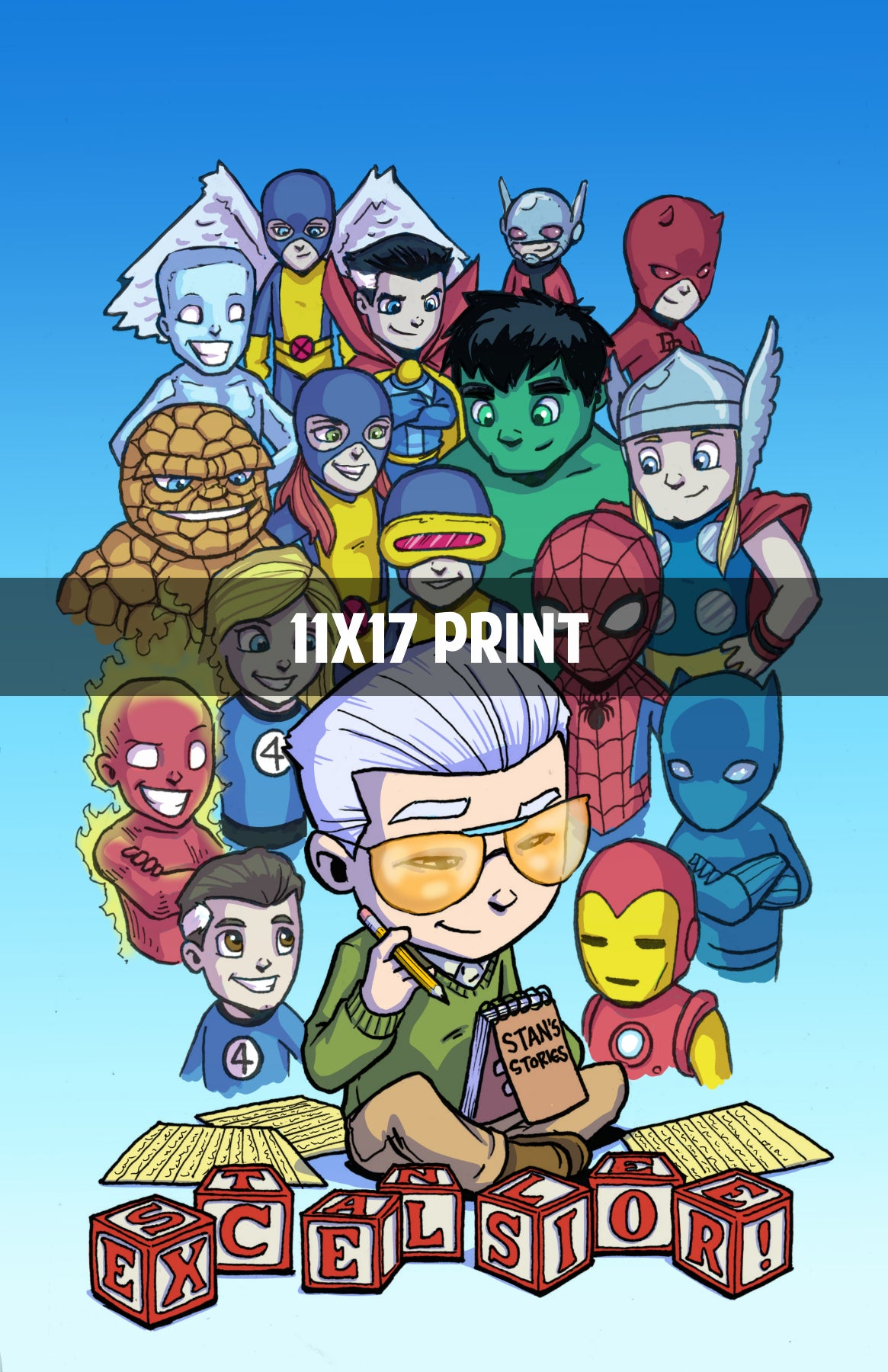 Stan Lee Tribute - 11x17 Print