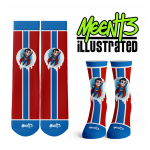 Superman - Character - Streetwear Full Poly Crew Socks