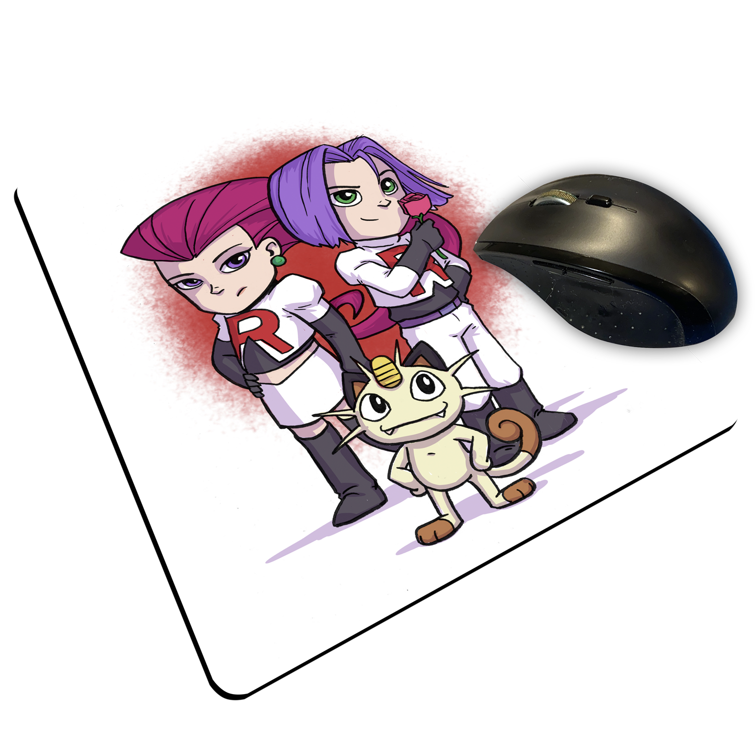 "Team Rocket - Custom ""Thin"" Mouse Pad"