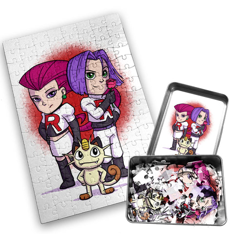 Team Rocket - Character - 120 Piece Jigsaw Puzzle