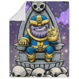 Thanos - Graphic - 50x60 Sherpa Blanket