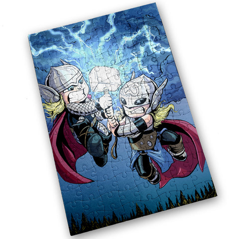 Thors - 120 Piece Jigsaw Puzzle