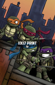 Teenage Mutant Ninja Turtles - 11x17 Print