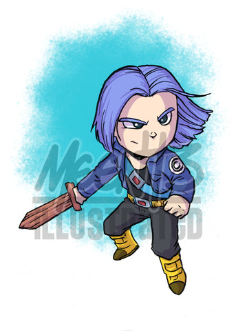 Trunks - 5x7 Mini Print