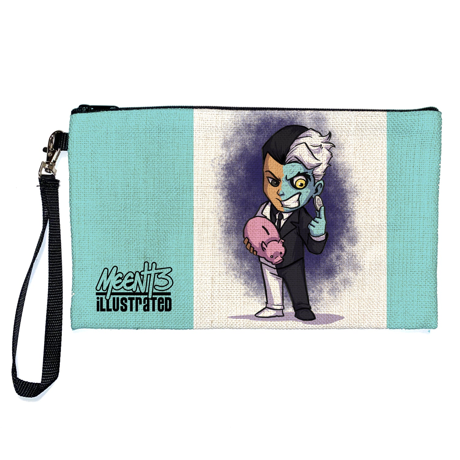 Two Face - Character - Large Pencil/Device Bag