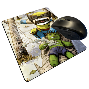 "Wolverine - Custom Graphic ""Thin"" Mouse Pad"