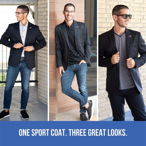 One Sport Coat. Three Great Looks.