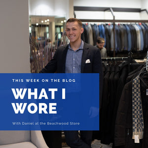 A Well-Made Suit: What I Wore Series
