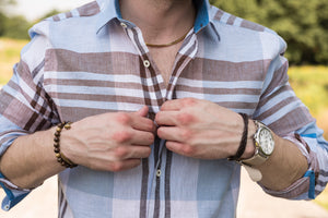 How Do You Wear a Patterned Shirt?