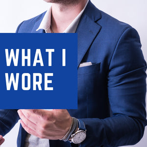 How to Wear a Polo with a Suit: What I Wore Series