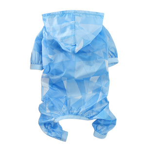 Waterproof Dog Raincoat For Small Dogs