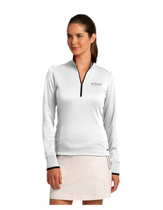 Nike Ladies Dri-Fit Stretch 1/2 Zip Cover-Up 578674