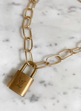 Authentic LV Lock Necklace