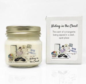 Mom Candles- Hiding in the Closet