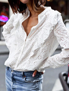 Everly Eyelet Blouse